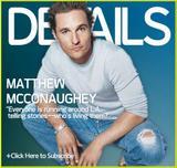 Matthew McConaughey Details magazine Feb. '06