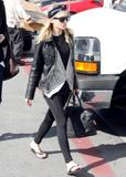 Ashley Olsen candids Sunset Blvd LA 2/8/07