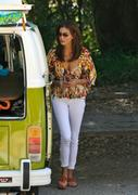 Teri Hatcher out & about in Brentwood 24-07-2011 (cleavy & bra peek)