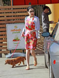 Dita Von Teese leaving a nail salon in Hollywood - April 13, 2010 (x8)
