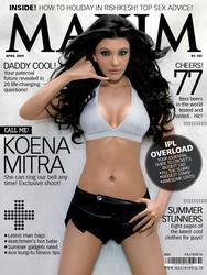 Koena Mitra - Maxim India April 2009