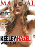 Keeley Hazell - Maxim France July 2008